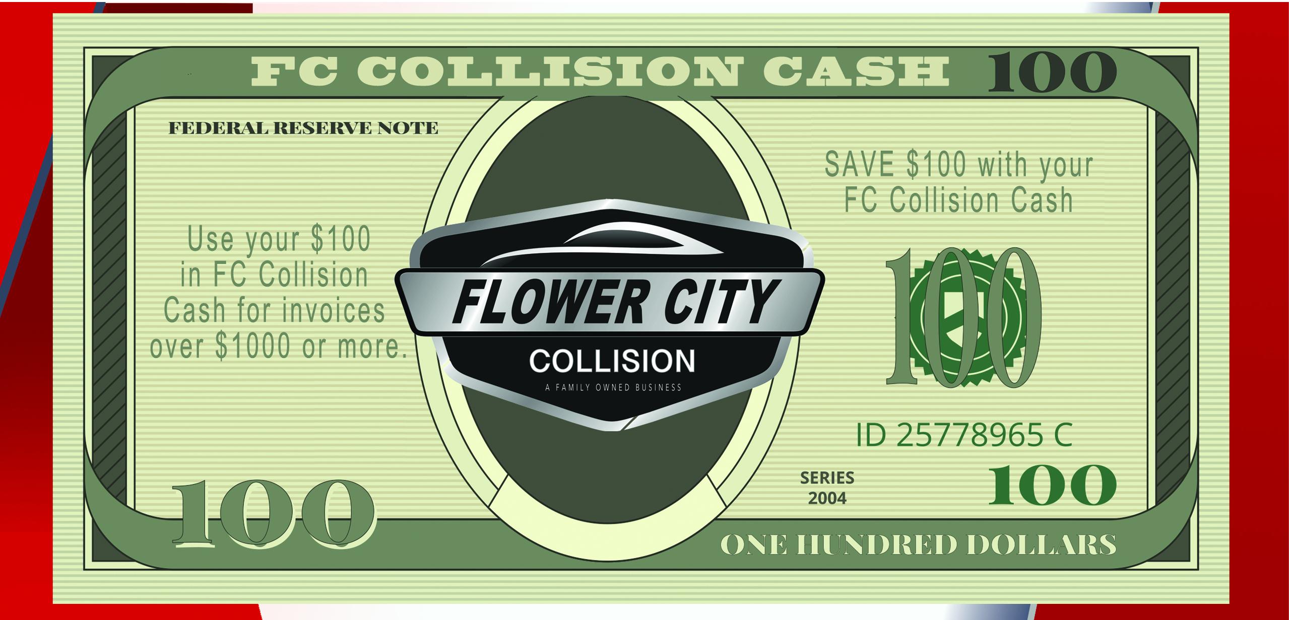 flower city collision cash